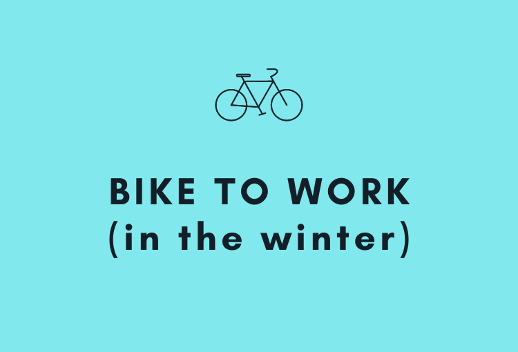 Bike to work in the winter (!/?)